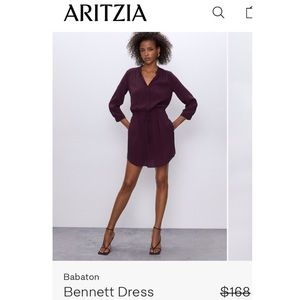 BABATON | 100% Silk Bennett Dress